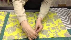 How To Make Bench Cushions Easy How To Make An Envelope Pillow Youtube