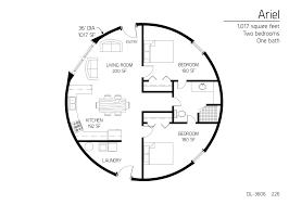 floor plan dl 3606 monolithic dome institute