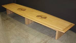 Oak Boardroom Table Custom Inlaid Solid Wood Conference Tables