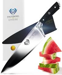 dalstrong chef knife gladiator series german hc steel 8