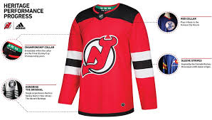 heritage uniforms and jerseys new jersey devils on twitter heritage performance progress