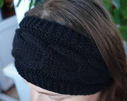winter headbands winter headband etsy