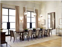 Wood Dining Room Tables And Chairs by Thomas Pheasant For Baker Furniture Featuring The Column Dining