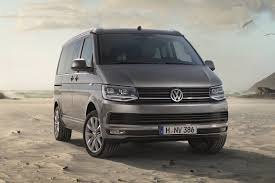 new volkswagen bus new vw t6 based california camper van unveiled