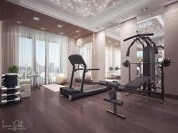 Gymnastics Room Decor Interior Magnificent Home Gym Exercise Room Decorating Ideas