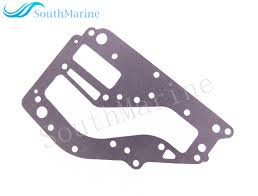 outboard engine boat motor 6k8 41122 a1 exhaust inner cover gasket