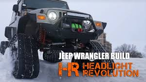 jeep wrangler tj light bar jeep wrangler tj with tracks led headlights led light bar offroad
