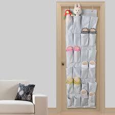 Door Shoe Organizer Buy Tune Up 24 Pocket Hanging Over Door Shoe Organizer Storage