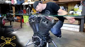 making a harley davidson engine table youtube