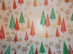 modern christmas wrapping paper vintage christmas wrapping paper santa and his sleigh ebay