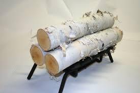 Inspirations Birch Logs In Fireplace Birch Wood Decor
