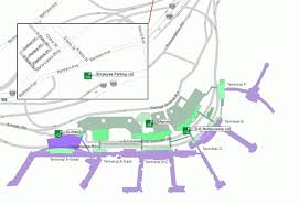 philadelphia international airport map bicycle access parking