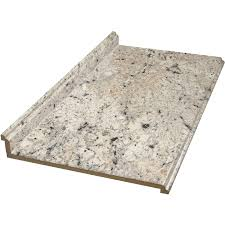 shop 20 percent off in stock kitchen countertops at lowes com vt dimensions formica 10 ft ouro romano etchings straight laminate kitchen countertop