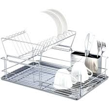 Kitchen Dish Rack Ideas Small Dish Drying Rack Appalling Dish Drying Rack For Small Spaces
