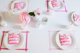 diy washi tape placemats
