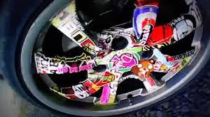 peugeot car wheels peugeot 206 cc sticker bombing on rims youtube