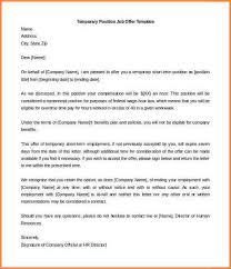 9 employment offer letter template adjustment letter