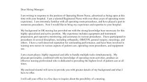 Perioperative Nurse Resume Resume Cover Letter Nursing Choice Image Cover Letter Ideas