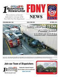 1st responder news fdny october by joseph belsito issuu
