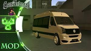 volkswagen crafter 2005 volkswagen crafter 2015 gta san andreas mod youtube