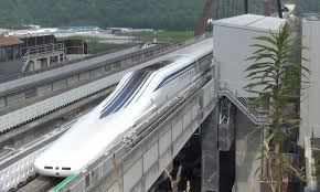 japan tests ambitious new maglev train