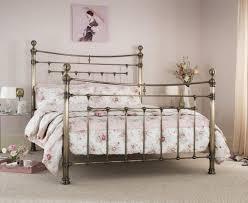 furniture red painted vintage metal bed frames using spring