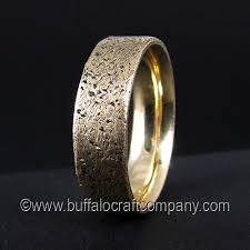 rustic mens wedding bands rustic ring 14k yellow gold men s wedding band 14k yellow gold