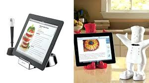 tablette tactile cuisine support tablette tactile cuisine et autres tablettes tactiles
