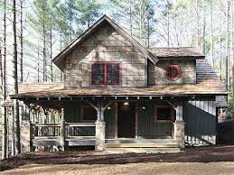 rustic cabin plans floor plans plan 18733ck wrap around porch simple floor plans big family and