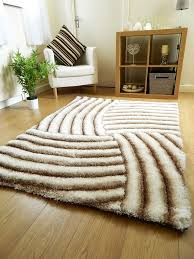rugs uk modern new light beige luxurious thick pile rug modern soft