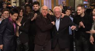 larry david bernie sanders told they re related on pbs show ny