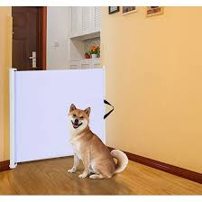 Retractable Room Divider by Royal Pet Retractable Folding Room Divider Safety Gate In White