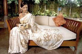wedding dress batik soft drapes of batik