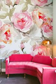 Home Floral Decor Large Floral Pattern Wallpaper Flower Wallpaper Wall Mural