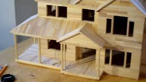 Raw House Model 39 Building Popsicle House Last One Youtube