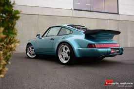 1993 porsche 911 turbo bavaria motors nv classic driver