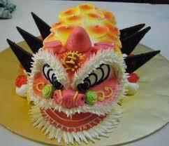 lion dance birthday cake image inspiration of cake and birthday