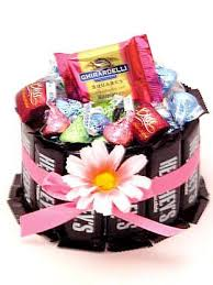 Food Gifts To Send Delicious Candy Bouquet And Candy Bar Cake Gifts To Send For Any