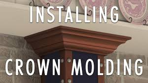 how to install a range hood u0027s crown molding zline range hood