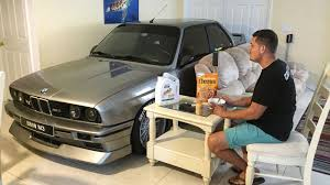 bmw e30 m3 meet the who pulled his e30 m3 into his house to save it from