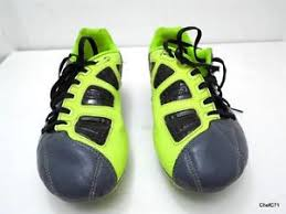 Nike T90 nike t90 us 4y eur36 gray dayglo cleats 385409 470 used