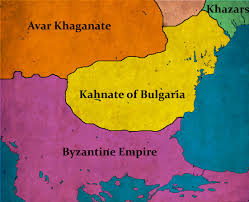 Map Of Bulgaria History Of Bulgaria 201 First Bulgarian Empire Bulgaria And