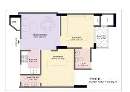 800 Square Feet Dimensions 2 Bhk House Plans At 8 00 Sq Ft Luxihome