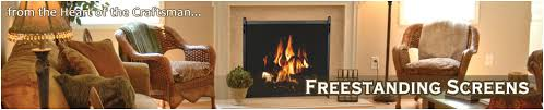 Custom Size Fireplace Screens by Stoll Fireplace Inc