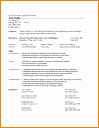 common resume format format