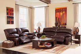 damacio dark brown reclining living room set from ashley u9820081