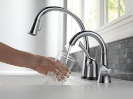 Touch Free Kitchen Faucets by Touch Kitchen Faucet Moen Faucets Reviews Touchless Kitchen