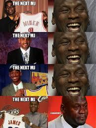 Michael Jordan Meme - nba memes on twitter has the next michael jordan arrived