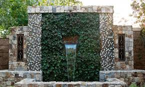 water wall outdoor vertical vegetable garden ideas vertical