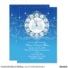 cinderella sweet 16 invitations free clipart